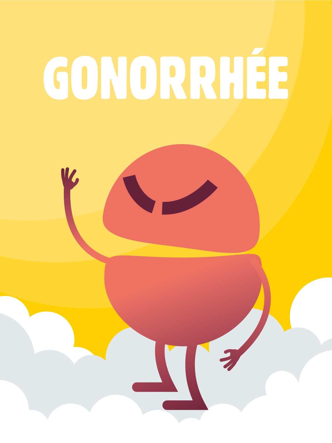 Gonorrhée, dépistage, IST, MST, infections sexuellement transmissibles, rapport sexuel à risque