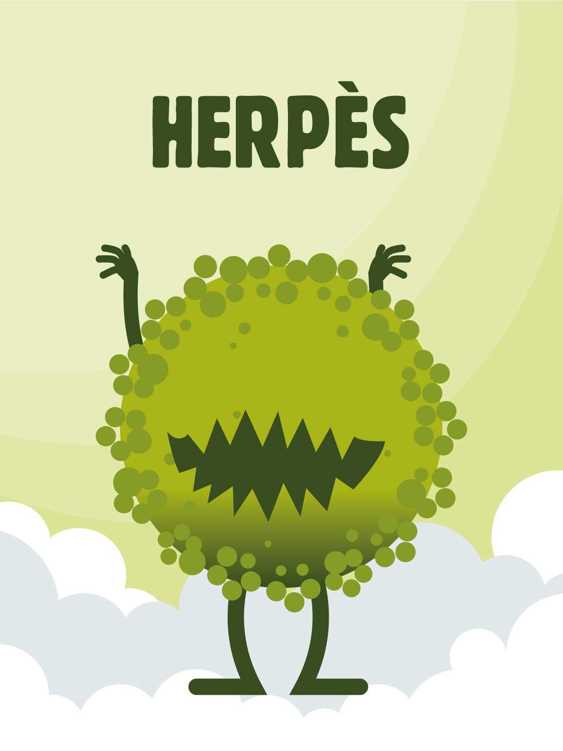 Herpès, dépistage, IST, MST, infections sexuellement transmissibles, rapport sexuel à risque